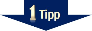 Stress vermeiden - Tipp 1