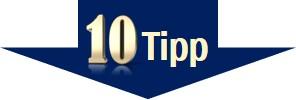 Stress vermeiden - Tipp 10