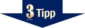 Stress vermeiden - Tipp 3