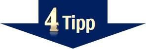 Stress vermeiden - Tipp 4