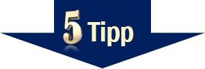 Stress vermeiden - Tipp 5