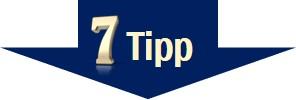 Stress vermeiden - Tipp 7