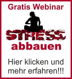 Gratis Webinar Stress abbauen